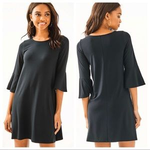 Lilly Pulitzer Black Ophelia Swing Dress